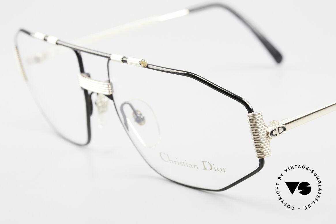 Christian Dior 2516 Vergoldete Vintage Brille 80er, ungetragen (wie alle unsere C. Dior Brillengestelle), Passend für Herren
