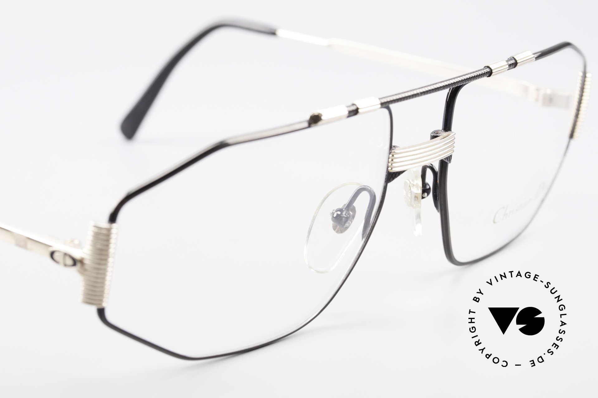 Christian Dior 2516 Vergoldete Vintage Brille 80er, KEINE Retrobrille, sondern ein altes Dior ORIGINAL, Passend für Herren