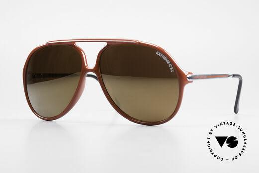 Carrera 5587 XXL Vintage 80er Sonnenbrille Details