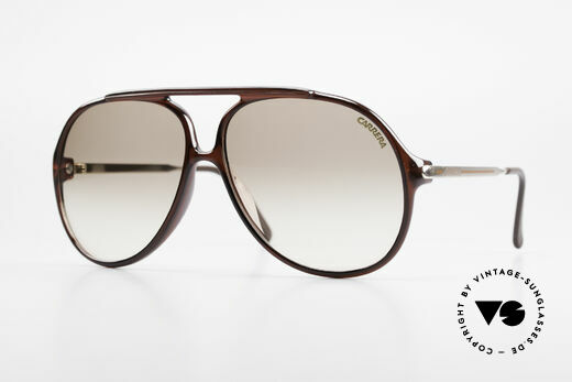 Carrera 5587 Vintage 80er XXL Sonnenbrille Details