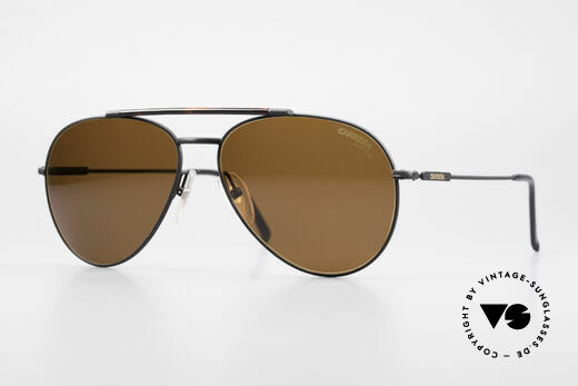 Carrera 5349 Vintage Aviator Sonnenbrille Details