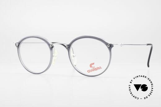 Carrera 4942 Runde Panto Vintage Brille Details