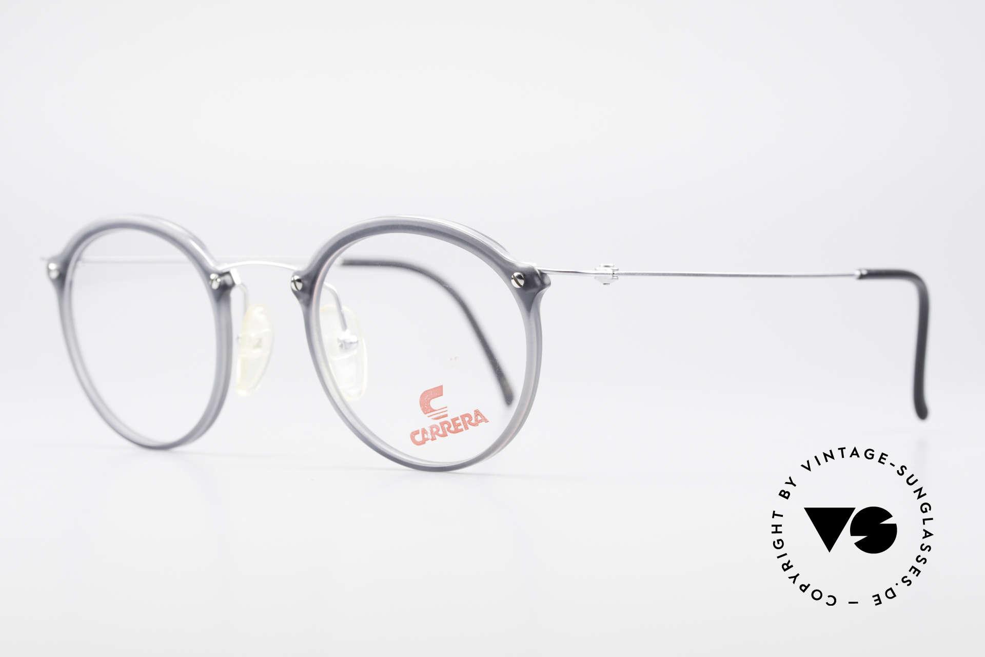 Carrera 4942 Runde Panto Vintage Brille, zeitloses Designerstück in absoluter TOP-Qualität, Passend für Herren und Damen