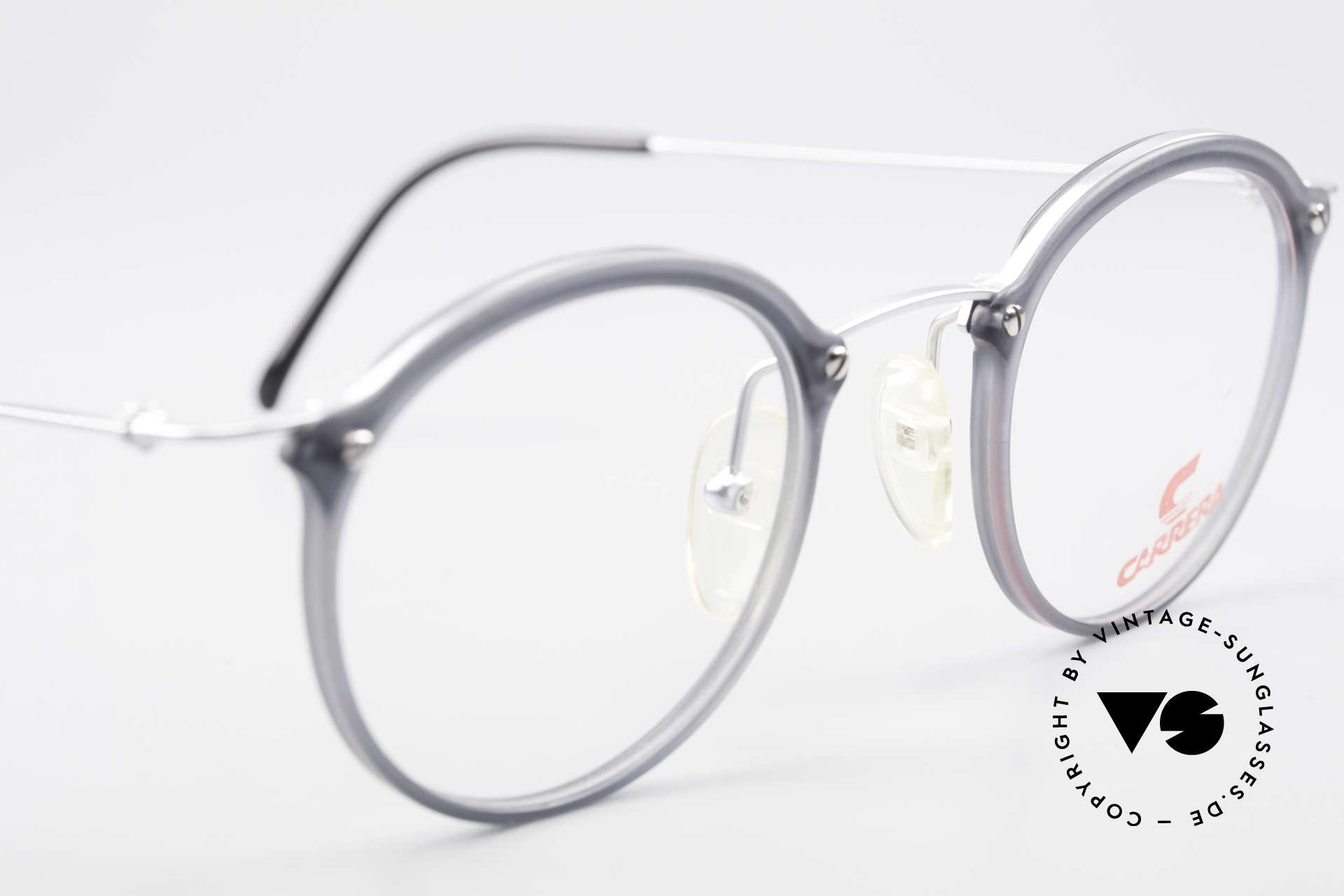 Carrera 4942 Runde Panto Vintage Brille, KEINE Retrobrille; ein originelles 90er ORIGINAL!, Passend für Herren und Damen