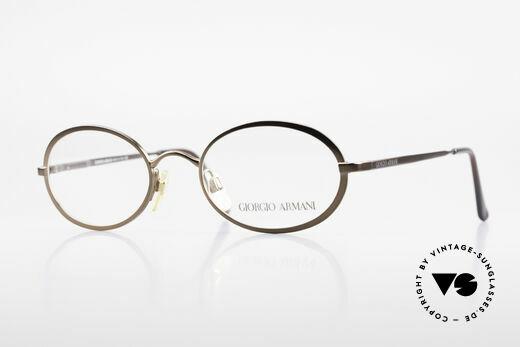 Giorgio Armani 277 90er Vintage Fassung Oval Details