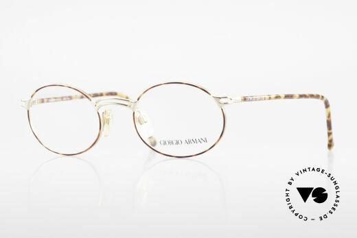 Giorgio Armani 194 Vintage Fassung No Retro Oval Details