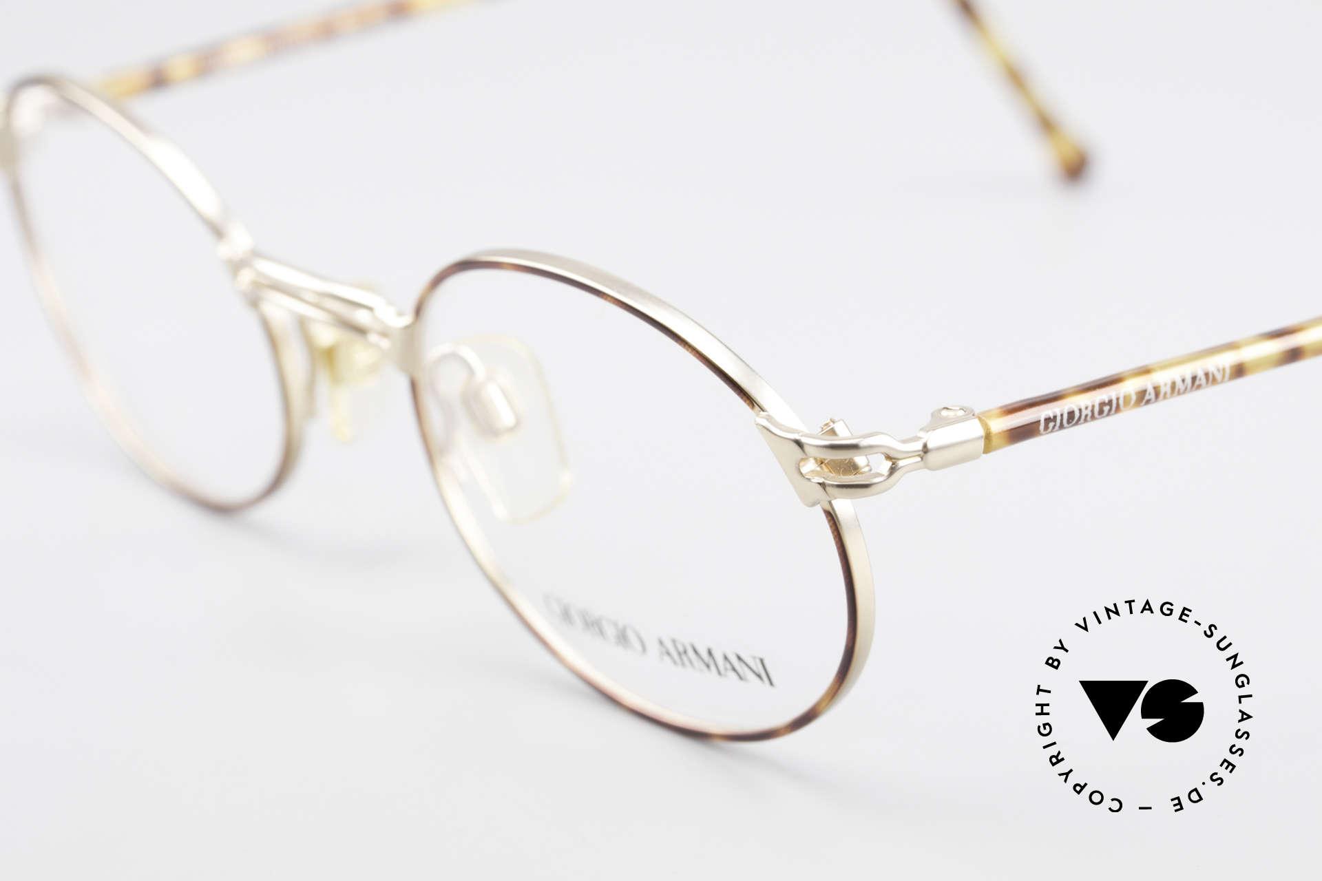 Giorgio Armani 194 Vintage Fassung No Retro Oval, ungetragen (wie alle unsere alten vintage Brillen), Passend für Herren und Damen