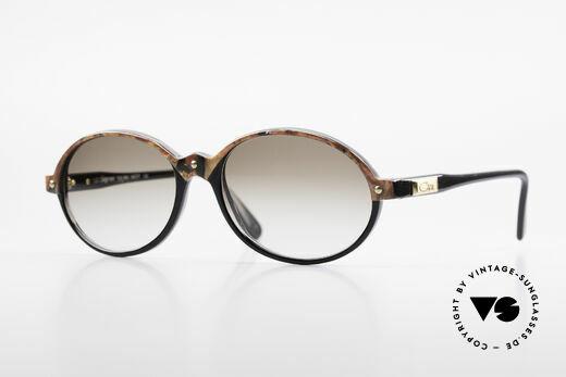 Cazal 328 Ovale Vintage Sonnenbrille Details