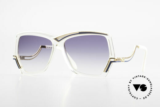 Cazal 178 Extravagante Sonnenbrille Details