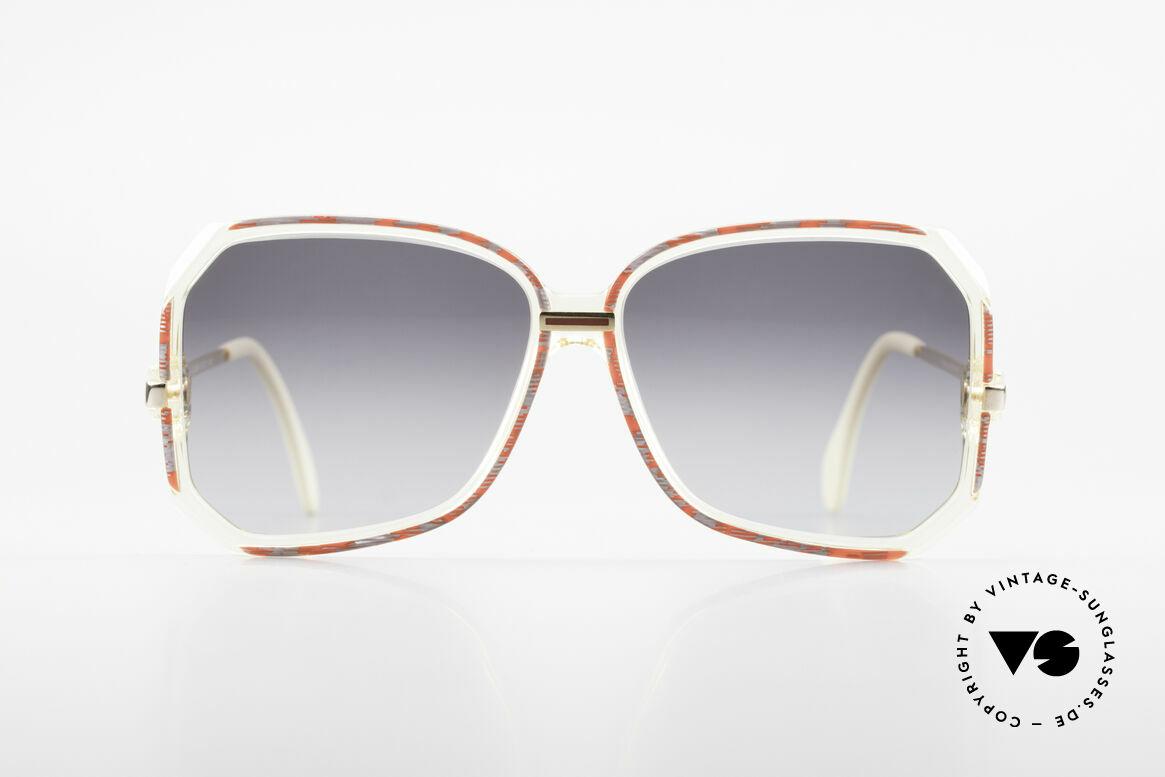 Cazal 167 West Germany Cazal Rahmen, tolle Kombination von Transparenz, Farbe & Form, Passend für Damen