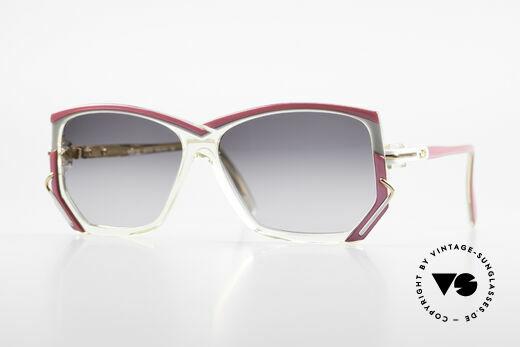 Cazal 197 80er Vintage Sonnenbrille Details