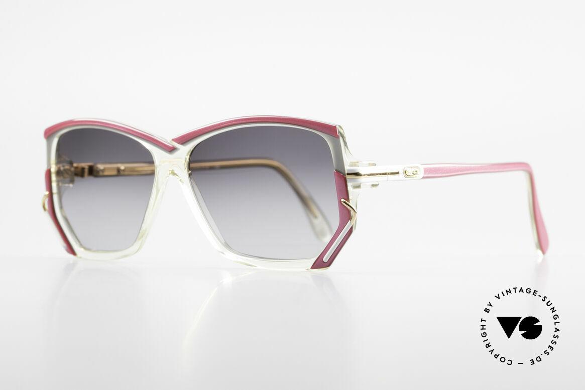 Cazal 197 80er Vintage Sonnenbrille, unverwechselbares Designerstück in KLEINER Größe, Passend für Damen