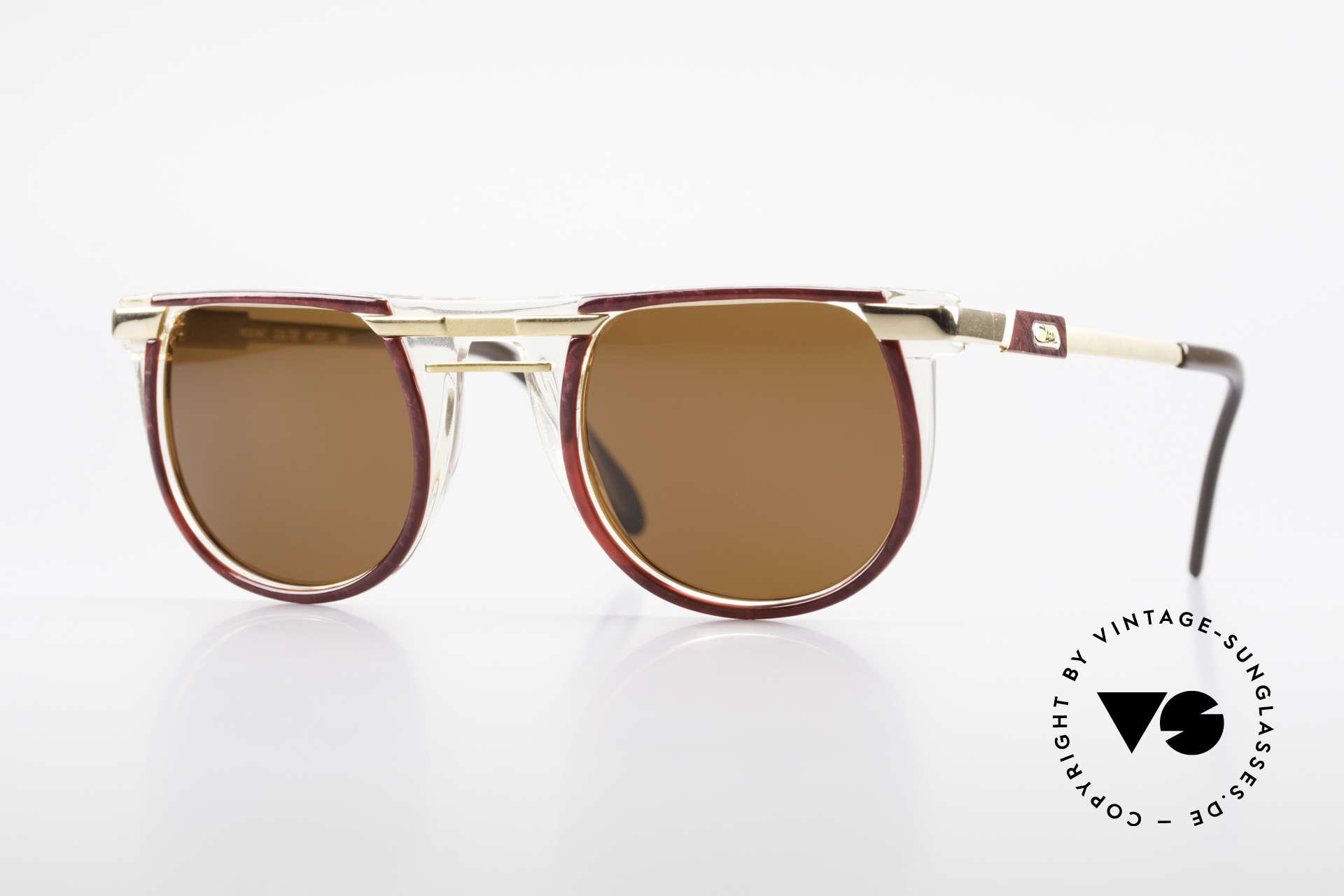 Cazal 647 90er Vintage Sonnenbrille, rundliche 90er Designer-Sonnenbrille von CAZAL, Passend für Herren und Damen