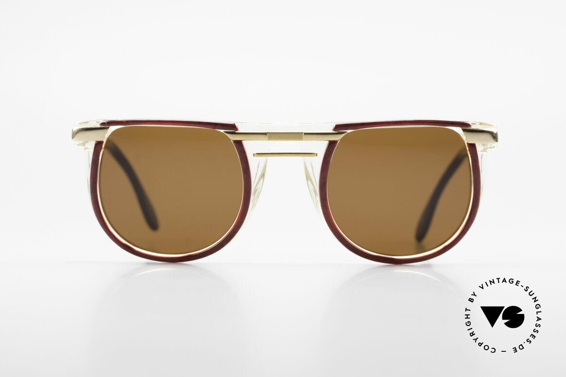 Cazal 647 90er Vintage Sonnenbrille, außergewöhnliches Modell mit tollem Farbkonzept, Passend für Herren und Damen
