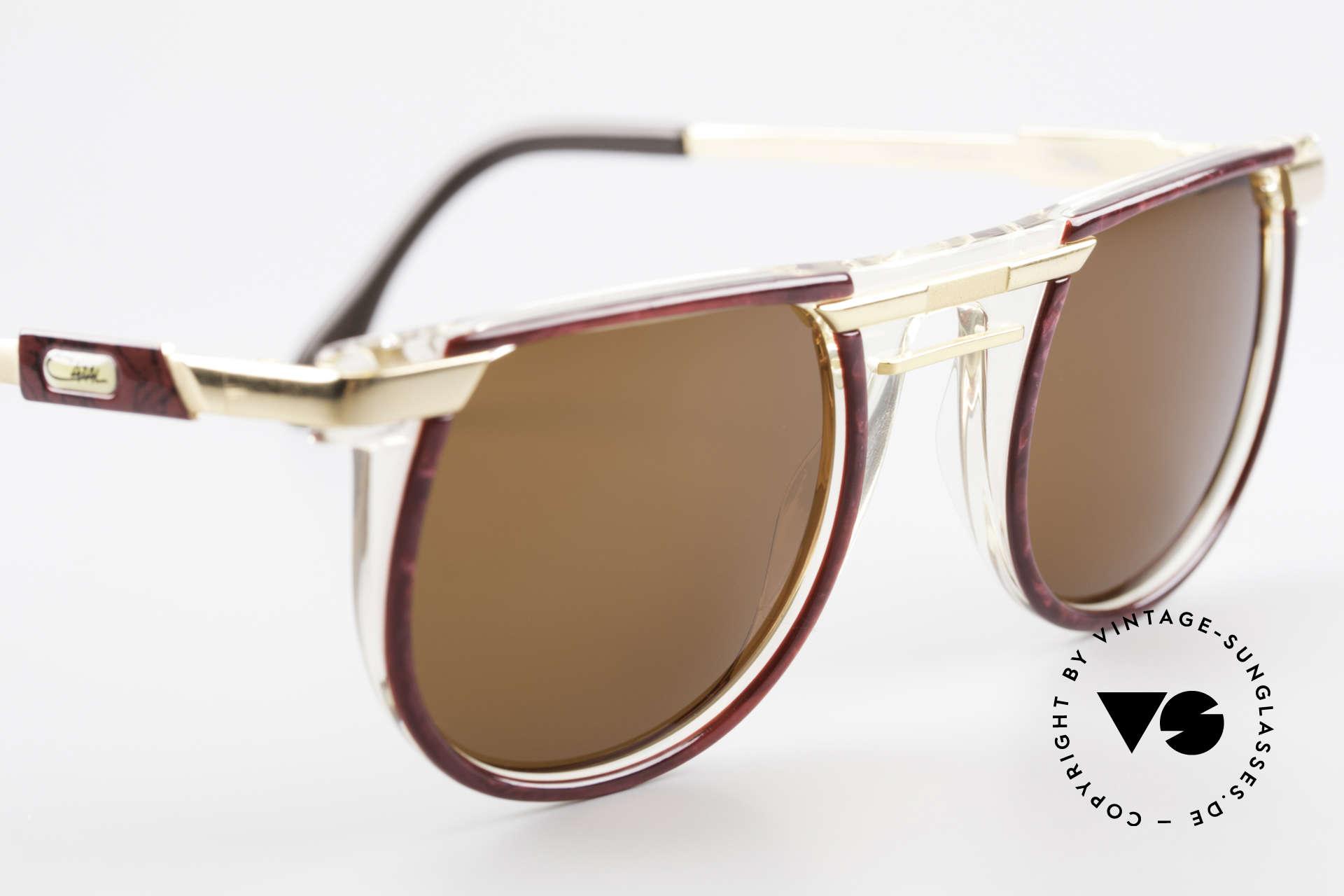 Cazal 647 90er Vintage Sonnenbrille, KEINE Retrobrille; sondern ein Original von 1990/91, Passend für Herren und Damen