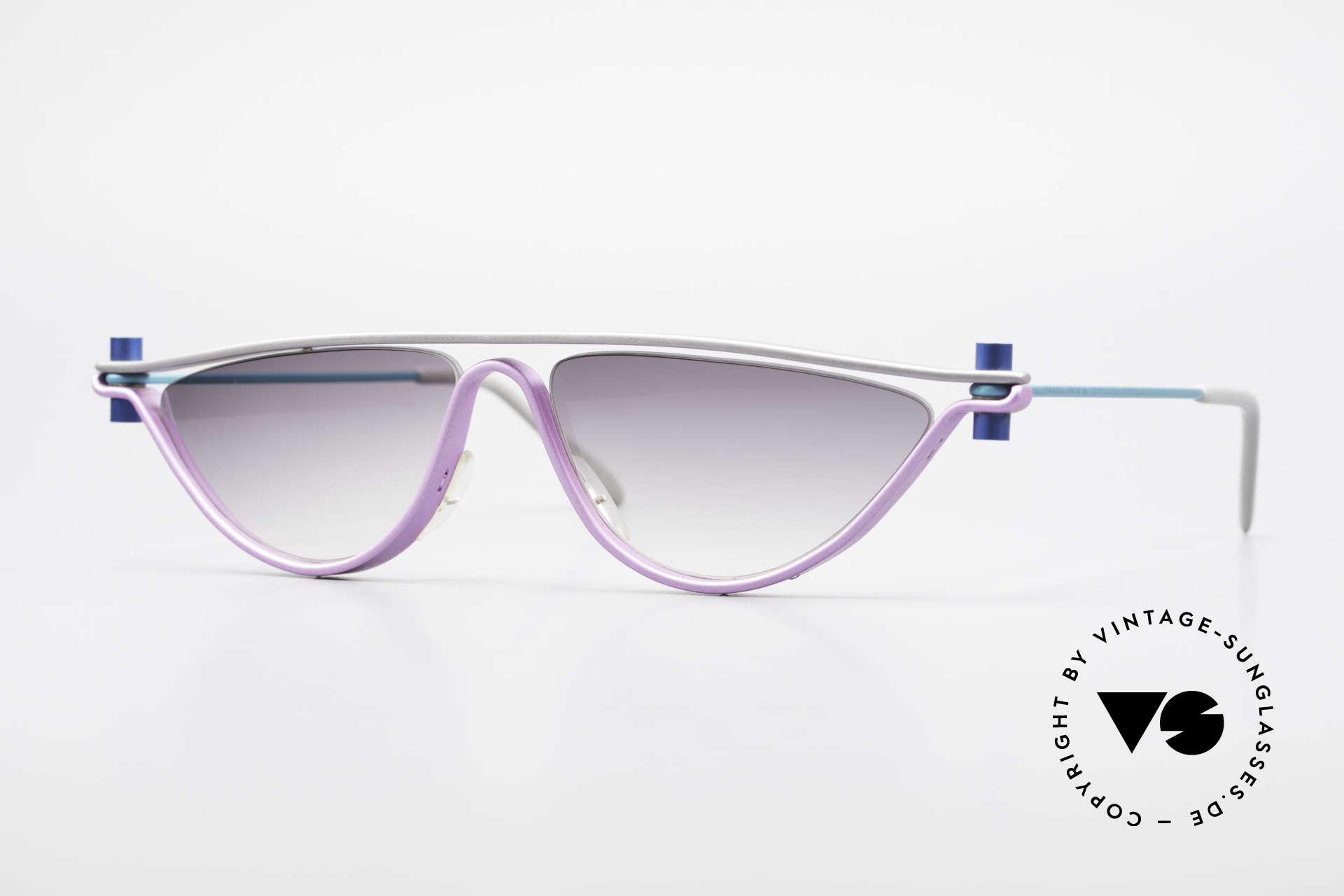 ProDesign No6 90er Vintage Filmsonnenbrille, ProDesign N°6 Optic Studio Denmark Sonnenbrille, Passend für Damen