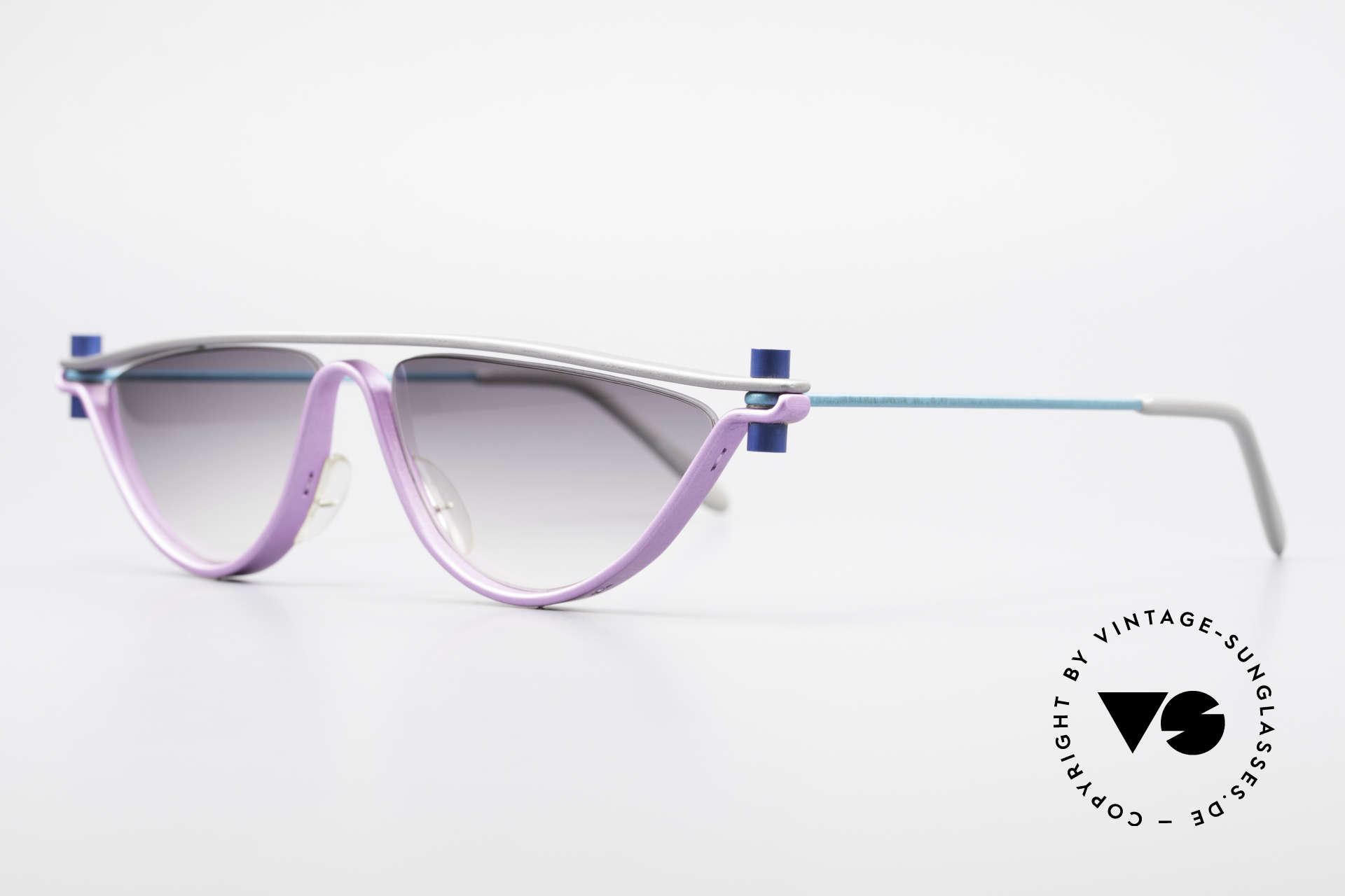 ProDesign No6 90er Vintage Filmsonnenbrille, der Nachfolger der berühmten N°ONE FILMBRILLE, Passend für Damen