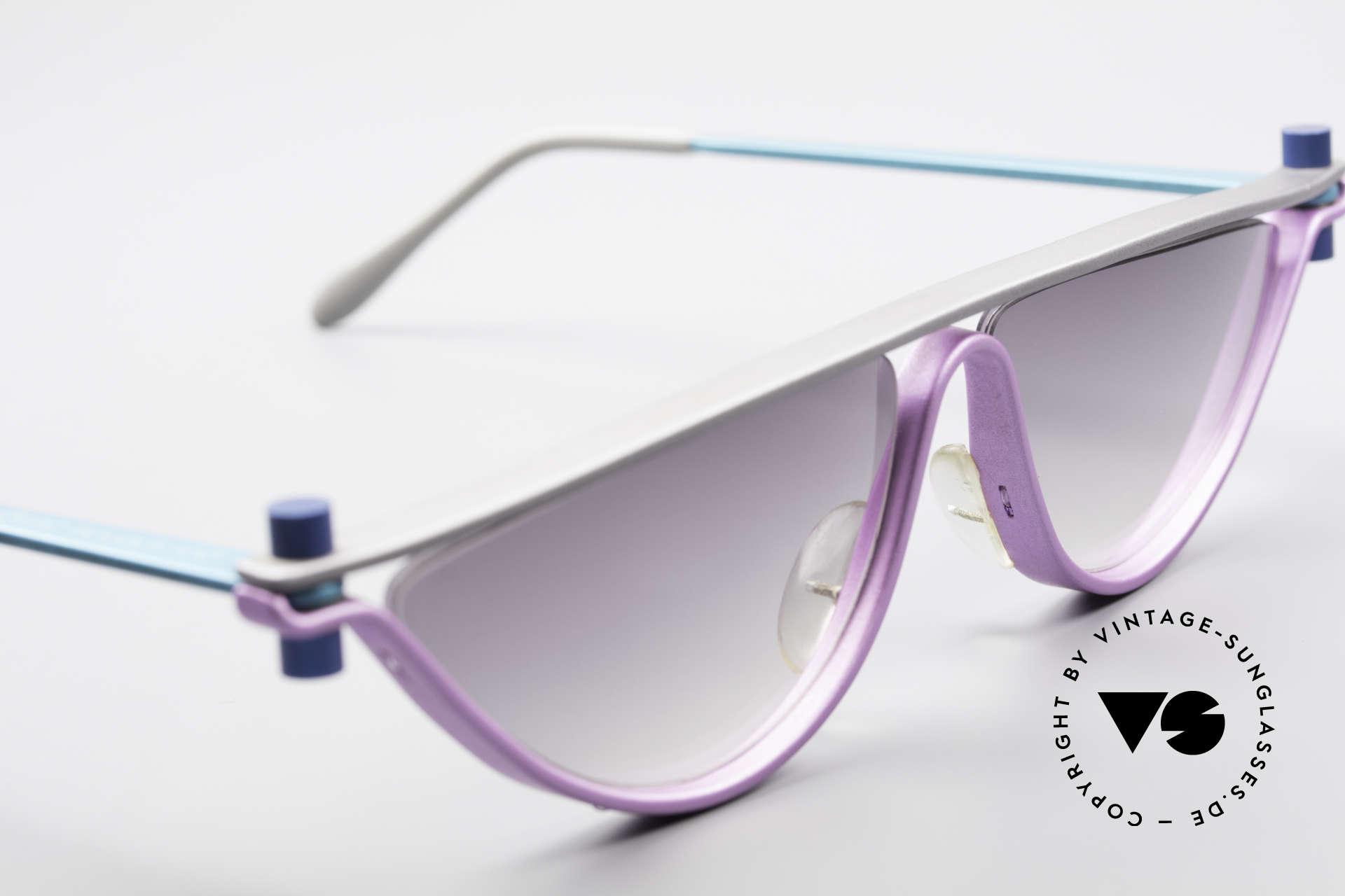 ProDesign No6 90er Vintage Filmsonnenbrille, dieses ungetragene N°6 Modell stammt von ca. '95, Passend für Damen