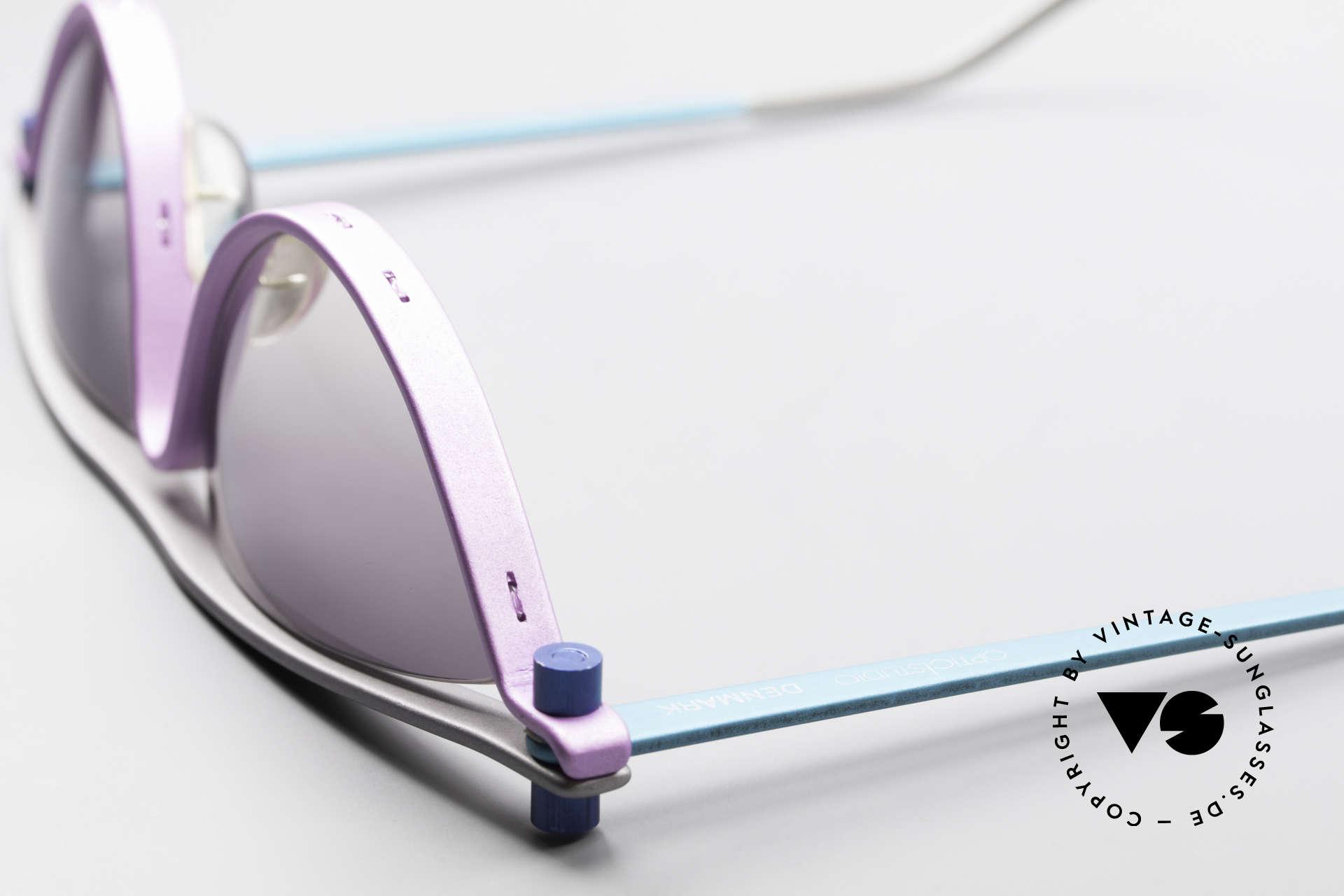 ProDesign No6 90er Vintage Filmsonnenbrille, Größe: extra large, Passend für Damen