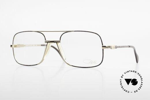 Cazal 740 Vintage Brille Herren 1990er Details