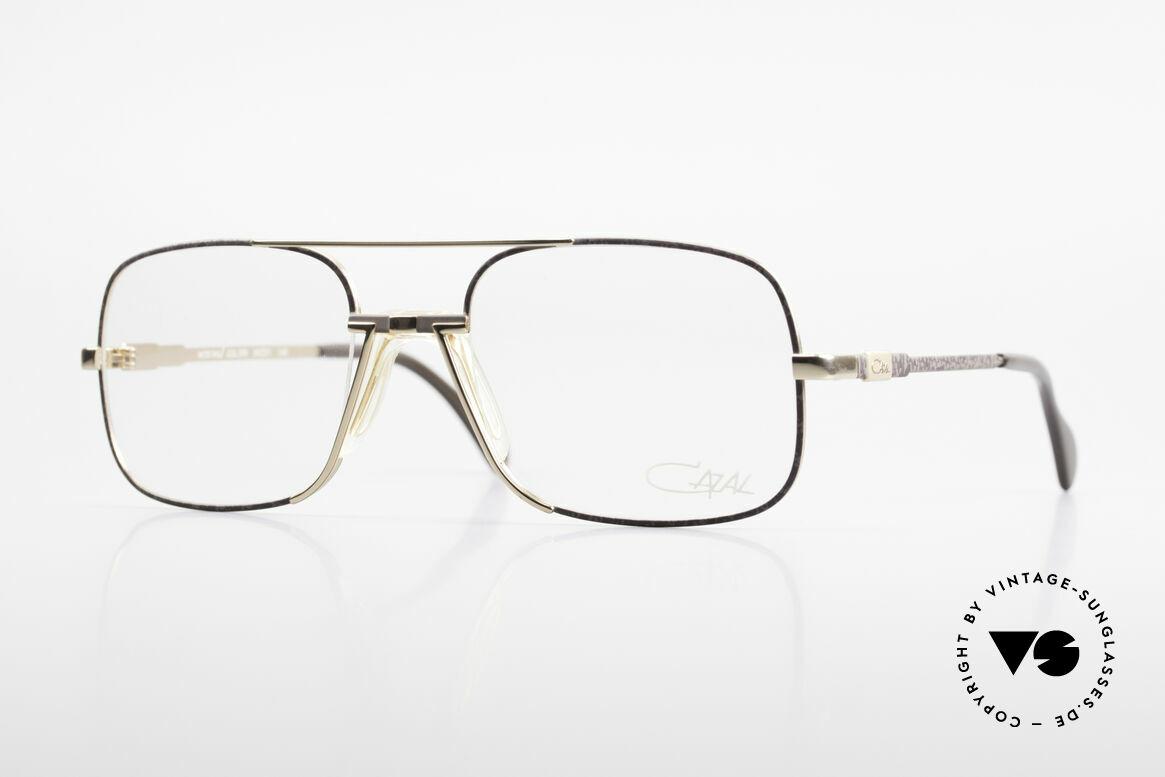 Cazal 740 Vintage Brille Herren 1990er, hochwertige CAZAL Designerbrille aus den 90ern, Passend für Herren