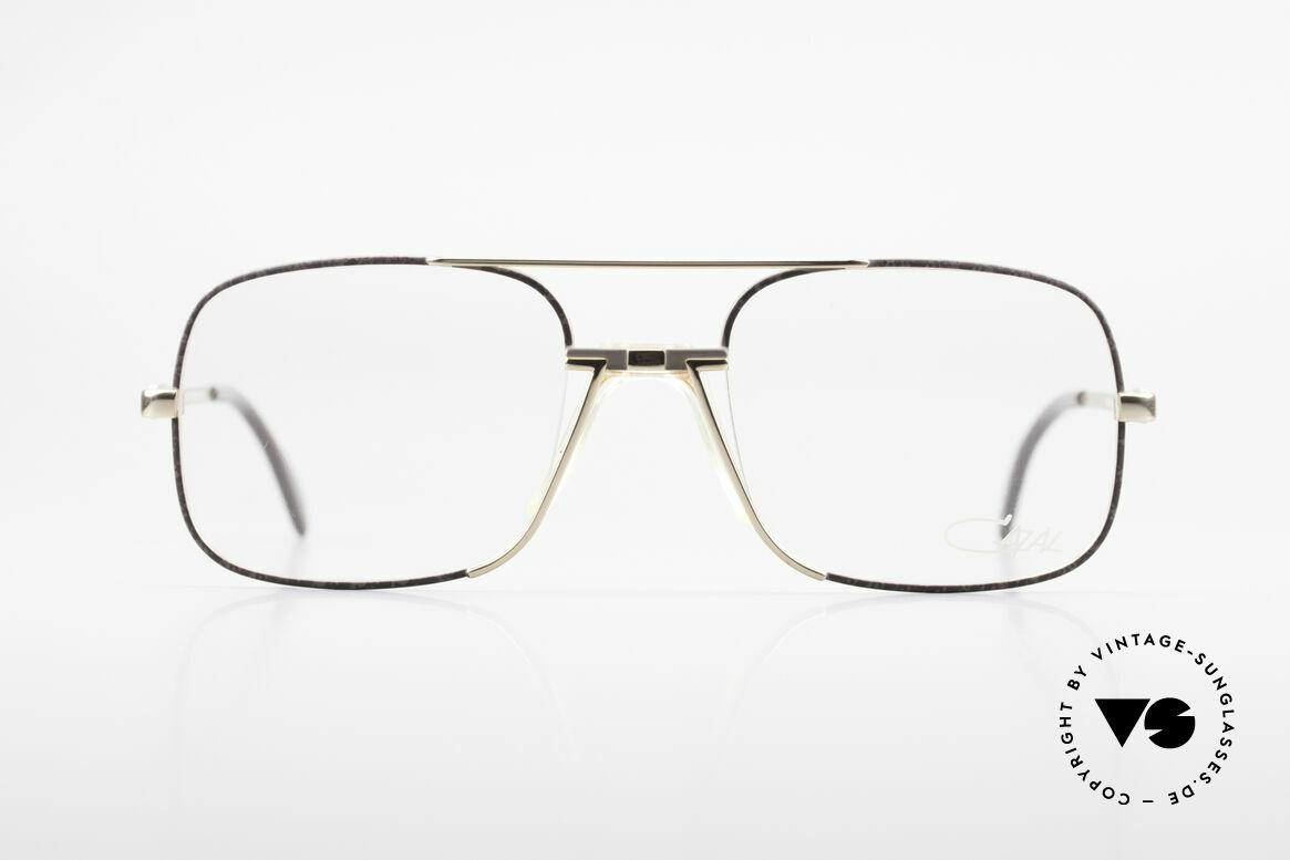 Cazal 740 Vintage Brille Herren 1990er, ausdrucksstarke Herrenbrille in Premium-Qualität, Passend für Herren