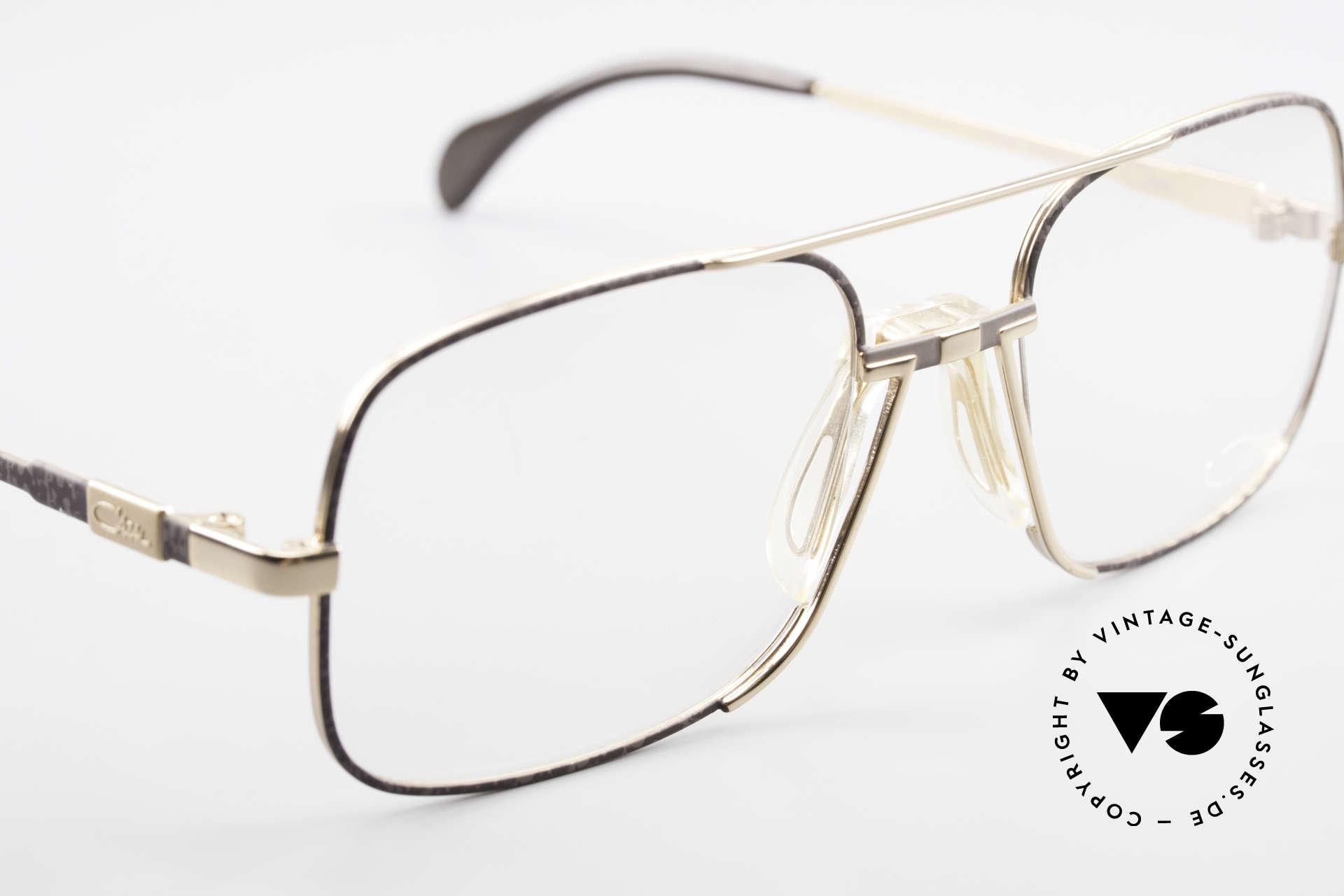 Cazal 740 Vintage Brille Herren 1990er, KEINE Retromode, sondern ein altes Cazal-Original, Passend für Herren