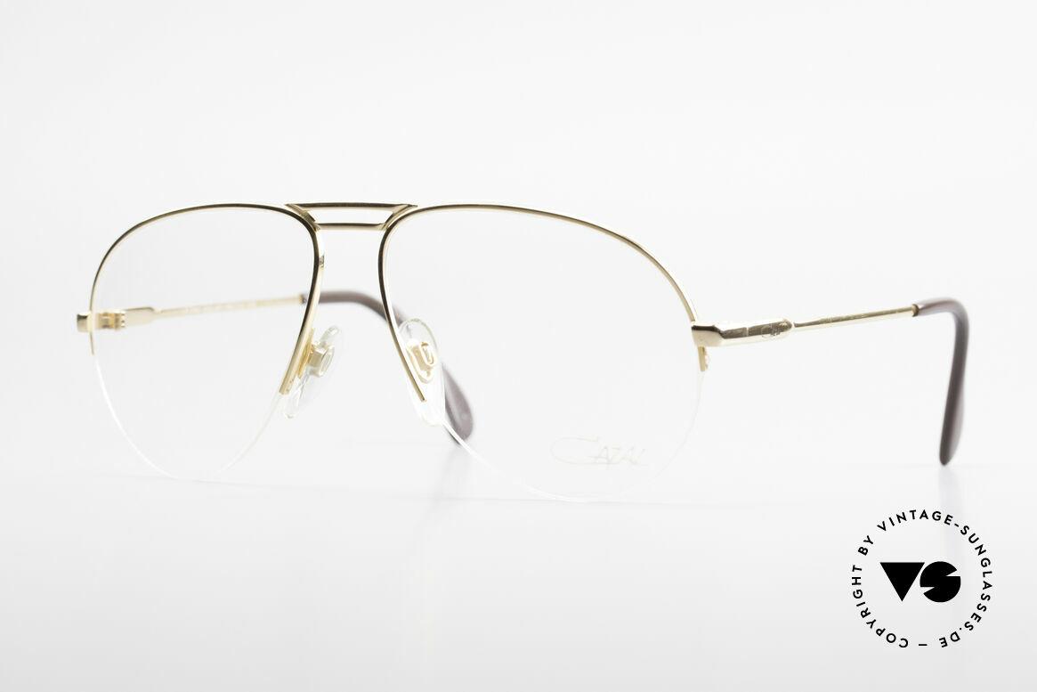 Cazal 726 West Germany Pilotenbrille, legendäres Pilotenbrillendesign von Cazal, Passend für Herren