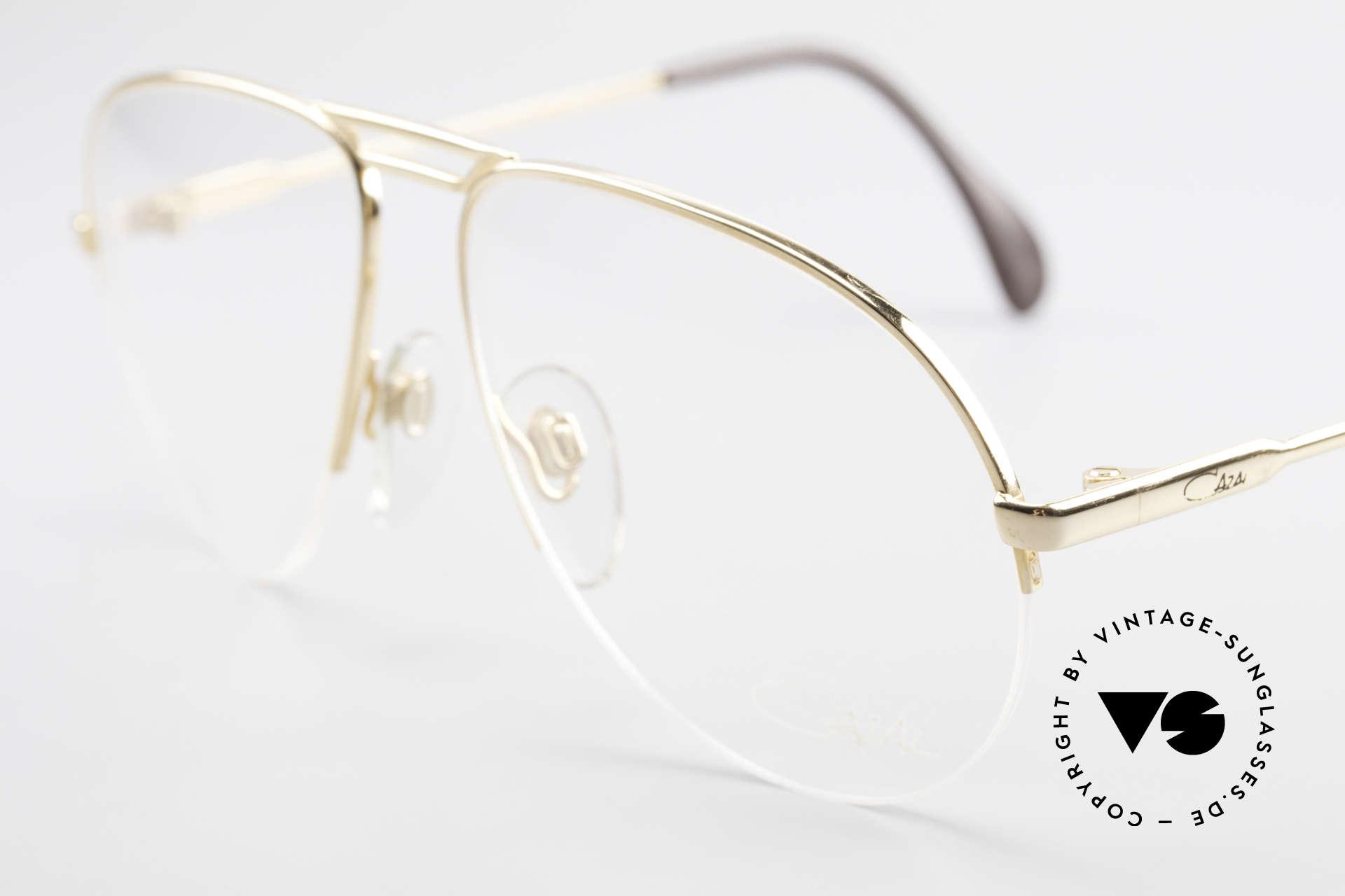 Cazal 726 West Germany Pilotenbrille, ungetragen (wie alle unsere vintage Cazals), Passend für Herren