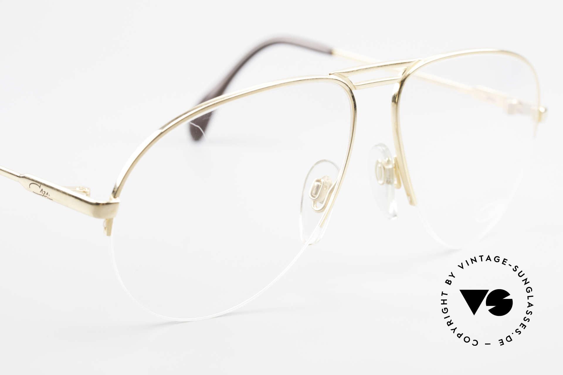 Cazal 726 West Germany Pilotenbrille, KEIN Retro; ein 80er West Germany Modell, Passend für Herren