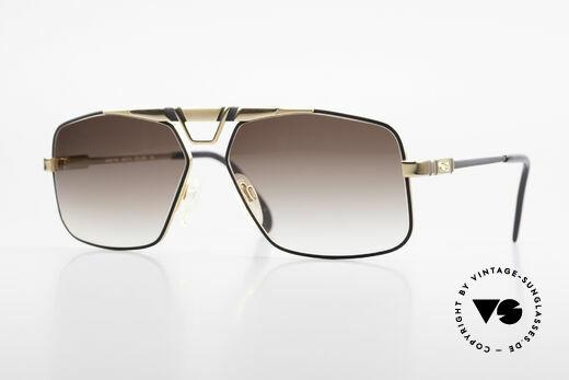 Cazal 735 Brad Pitt Vintage Sonnenbrille Details