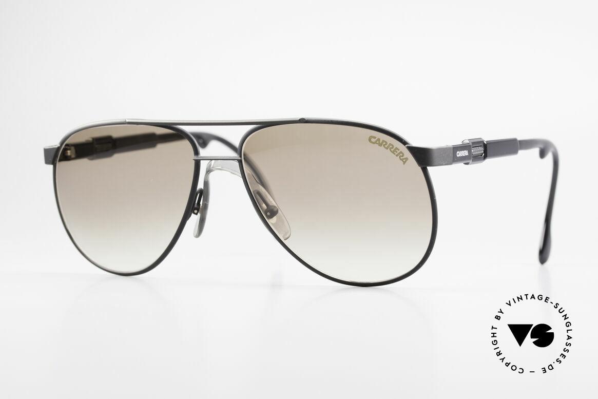 Carrera 5348 Vario Sport Sonnenbrille 80er, brilliantes 80er Jahre Carrera Design, Gr. 56°15, Passend für Herren und Damen