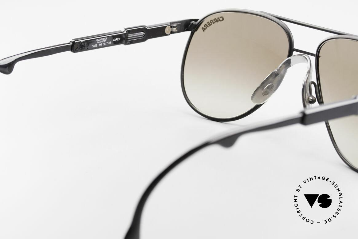 Carrera 5348 Vario Sport Sonnenbrille 80er, Größe: small, Passend für Herren und Damen