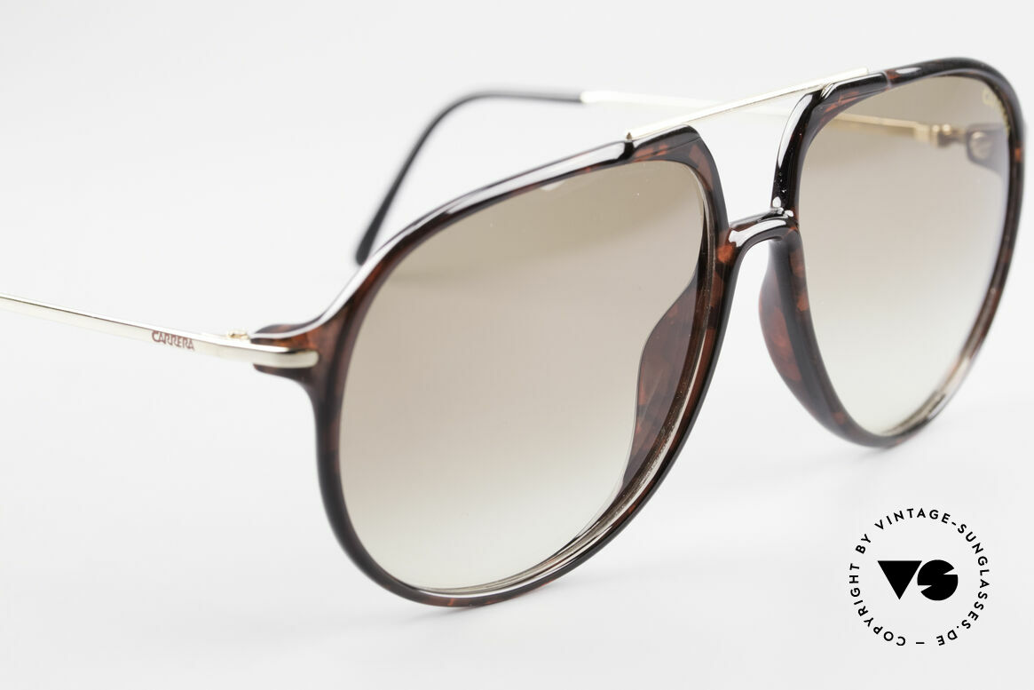 Carrera 5327 80er Piloten Brille Optyl