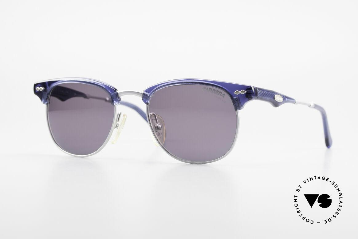 Carrera 5324 Vintage Panto Sonnenbrille, stilvolle CARRERA vintage Gentleman-Sonnenbrille, Passend für Herren