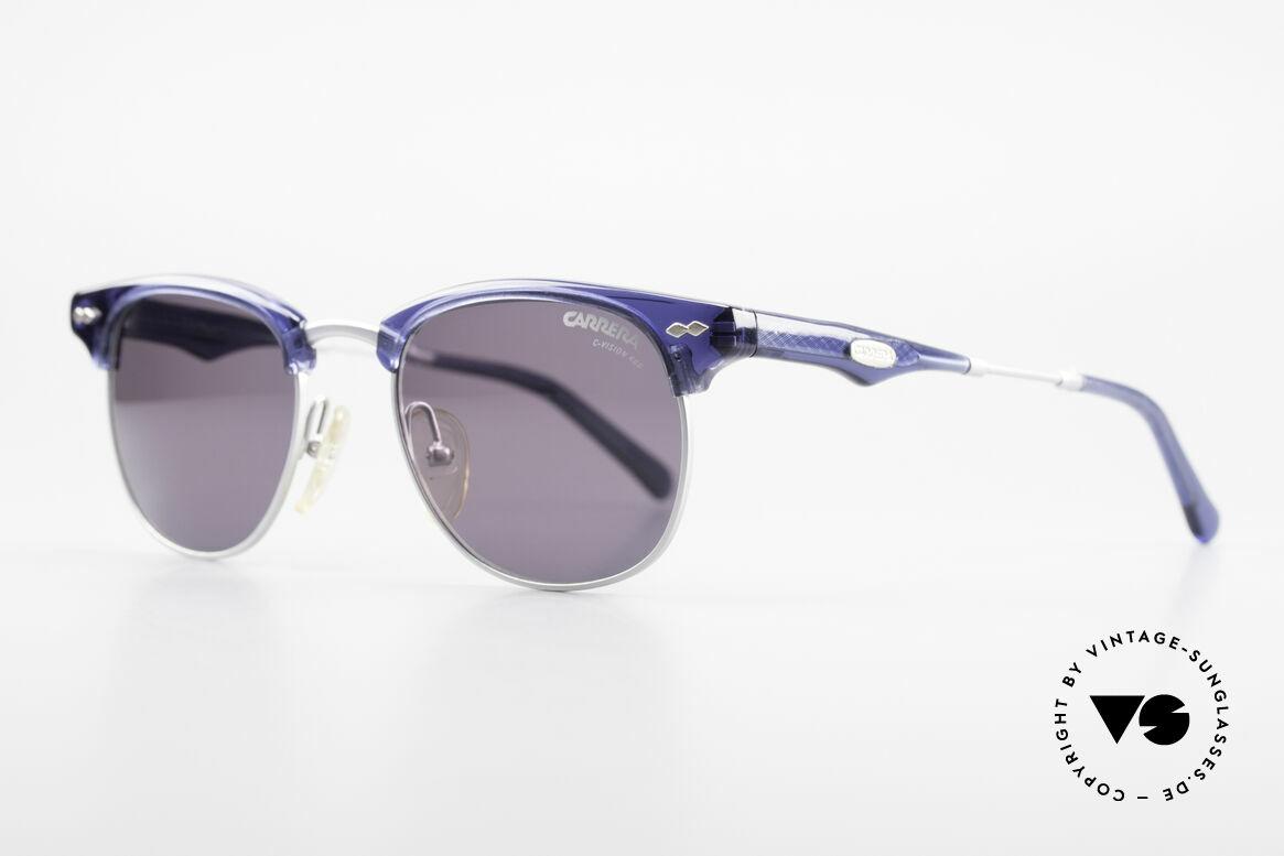 Carrera 5324 Vintage Panto Sonnenbrille, eckiges PANTO-Rahmen-Design in Spitzen-Qualität!, Passend für Herren