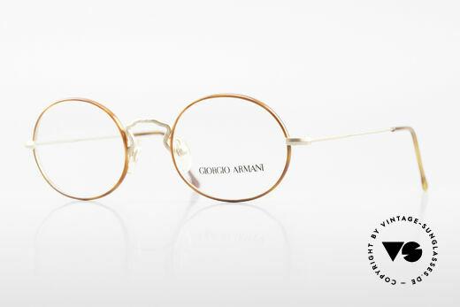 Giorgio Armani 247 Vintage Brille Oval No Retro Details