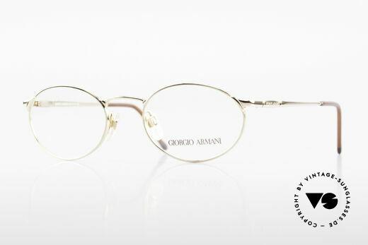 Giorgio Armani 263 Ovale Brille Damen Herren Details