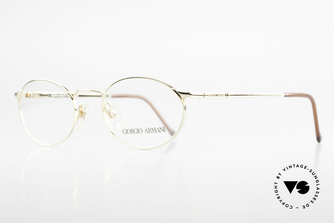 Giorgio Armani 263 Ovale Brille Damen Herren