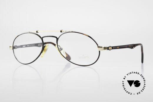 Bugatti 16957 Seltene 80er Vintage Brille Details