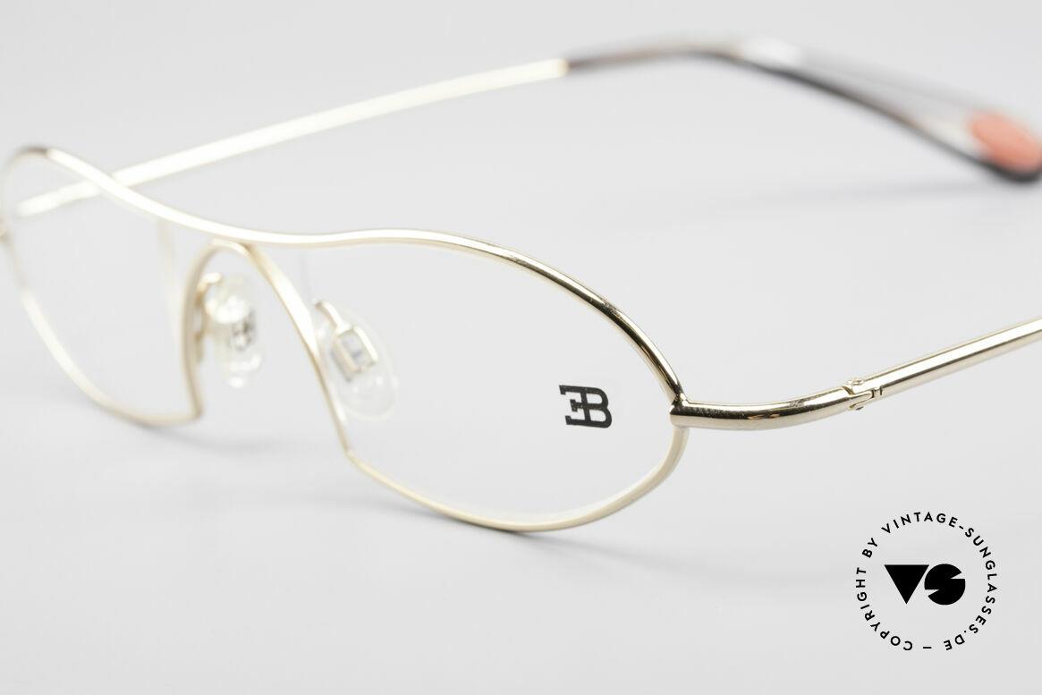 Bugatti 351 Odotype Herren Designer Brille Luxus, sehr spezielle Glaseinfassung & Top Komfort, Passend für Herren