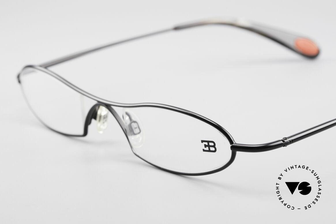 Bugatti 347 Odotype Kleine Herren Designer Brille, sehr spezielle Glaseinfassung & Top Komfort, Passend für Herren