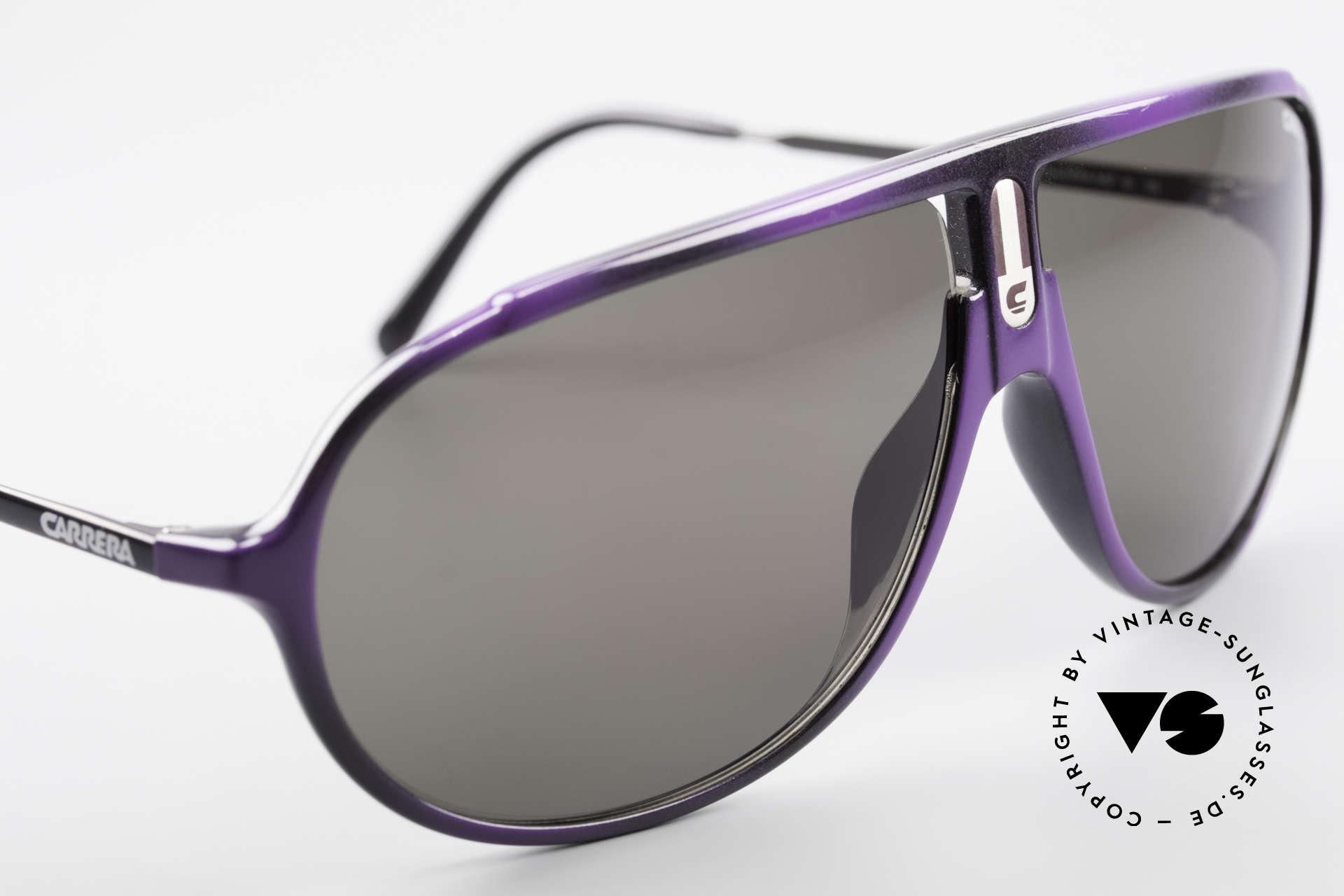 Carrera 5467 Carbon Fibre Brille Kohlefaser, ungetragen (wie alle unsere vintage 80er Carrera), Passend für Herren