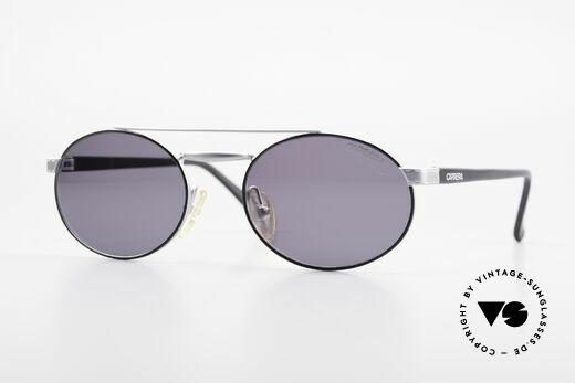 Carrera 4805 Vintage Sonnenbrille Oval 90er Details