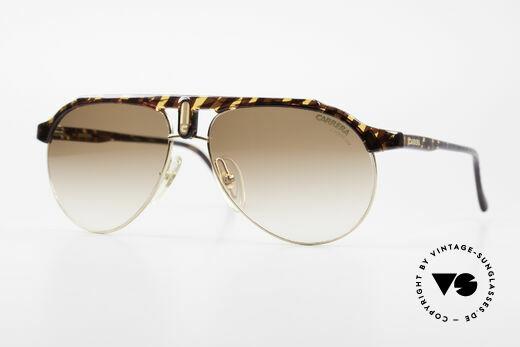 Carrera 5478 80er Vintage Sonnenbrille Details