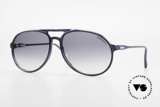 Carrera 4814 Vintage Brille Blau Metallic Details