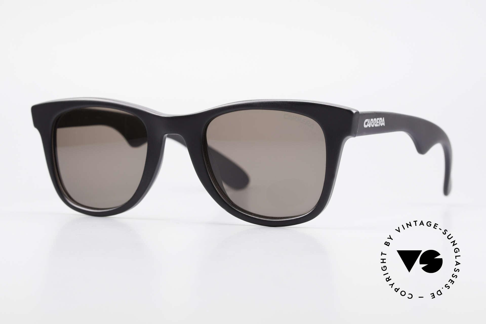 Carrera 5447 Sonnenbrille Im Wayfarer Stil, vintage Carrera Sonnenbrille aus den 90er Jahren, Passend für Herren und Damen