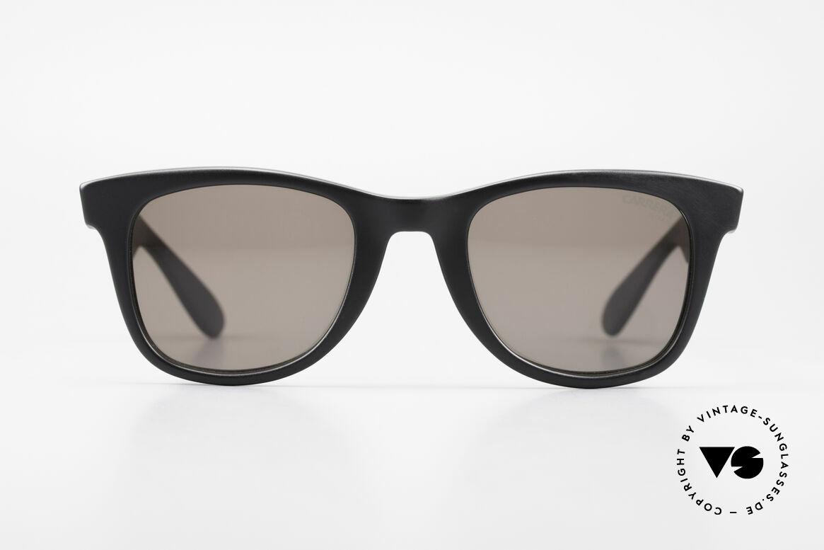 Carrera 5447 Sonnenbrille Im Wayfarer Stil, langlebiges Optyl-Material scheint nicht zu altern, Passend für Herren und Damen