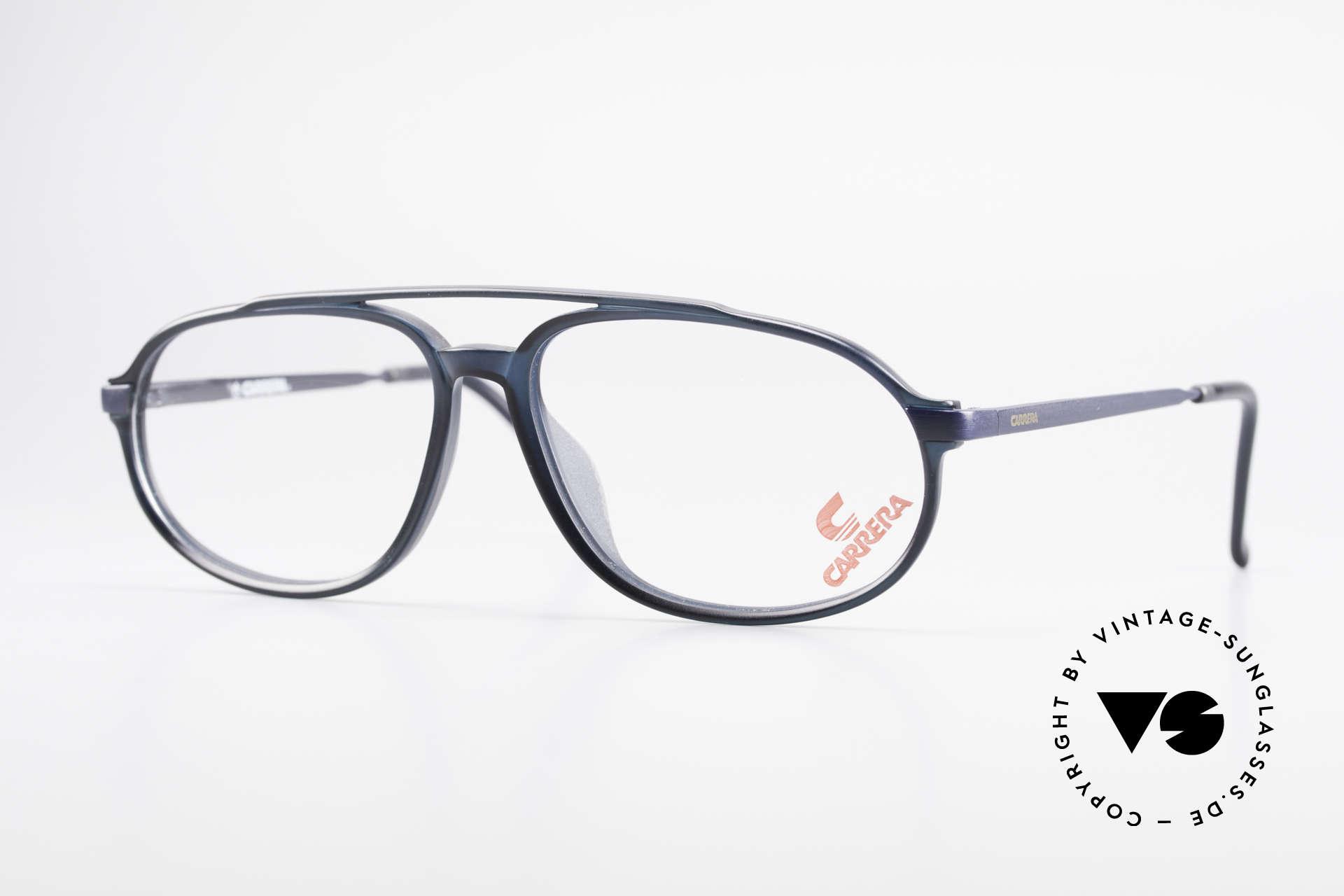 Carrera 4900 90er Vintage Brille No Retro, sehr interessante vintage Aviator Brille von Carrera, Passend für Herren