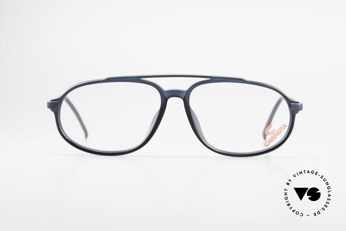 Carrera 4900 90er Vintage Brille No Retro, Rahmen erscheint blau / schwarz; nach Lichteinfall, Passend für Herren